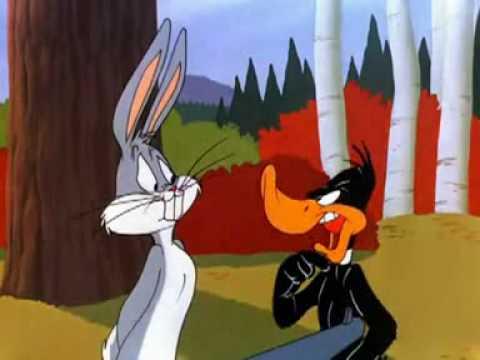 Remplacez les paroles de Daffy et Bugs par YES! et NO! pour donner une belle scène hommage à l'un des dessins animés les plus connus de l'histoire.