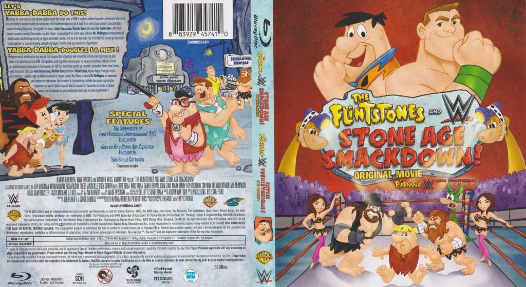 Mon boitier Blu-ray de Catch Préhistorique, qui n'est pas le titre du coffret 4 DVDs de Tony Garea.
