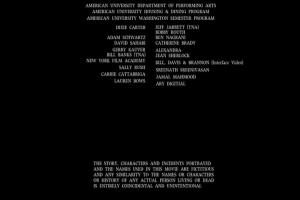 On prend le temps de remercier Jeff Jarrett et Dixie Carter. Pas sur qu'il ont retourné ses appels après ce film.