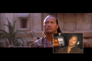 Un des bonus du DVD est de regarder le film en compagnie de Dwayne qui nous parle du faisage du film.