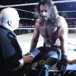 Seth Rollins blessé