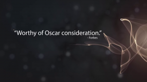 Malheureusement, une infopub ne peut gagner un Oscar...