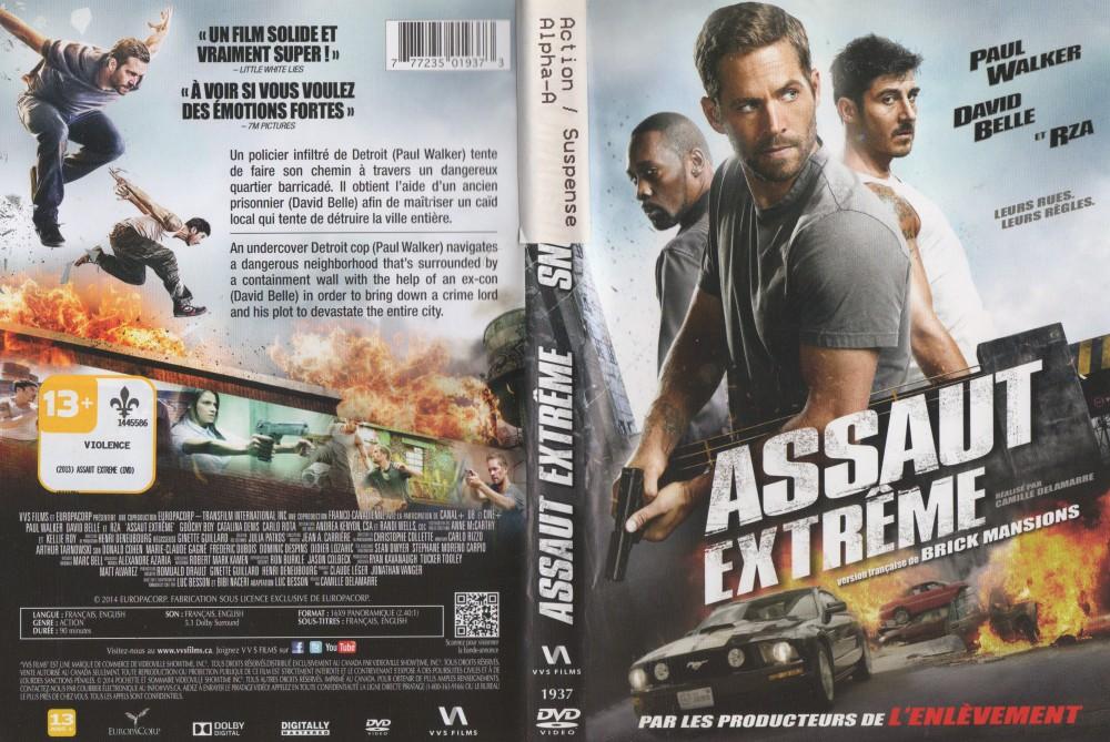 Pochette DVD du film, qui est aussi en blu-ray, sur Super-Écran, Movie Network et Club Illico.