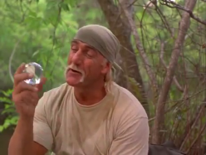 """""""J'ai trouvé le trésor, je pense que c'est un diamant. Bob, ça dit quoi ici?"""""""