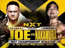 Samoa Joe Shinsuke Nakamura