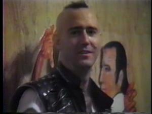 Kaufman, déjà malade et perdant ses cheveux, à la première du film. Ces images sont sur le DVD. De beaux souvenirs.