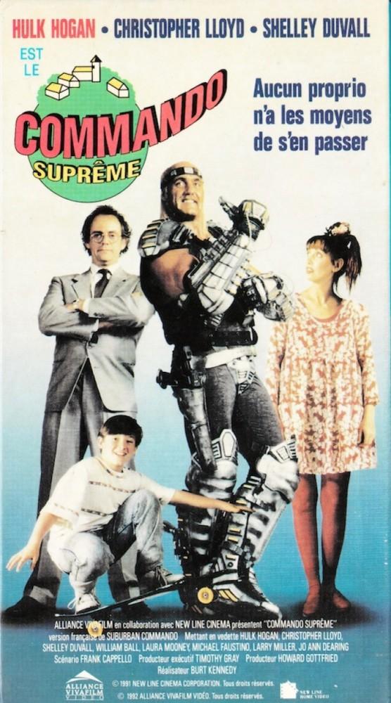 La VHS québécoise, distribuée par Alliance
