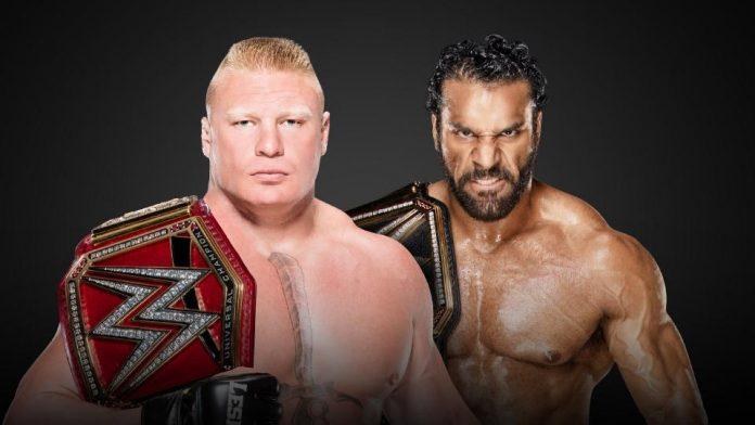Lesnar vs Mahal