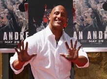 "Dwayne ""The Rock"" Johnson Immortalized With Hand And Footprint Ceremony"