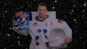 """Mike the Astronaut"""