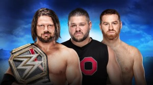 AJ Styles vs Owens & Zayn