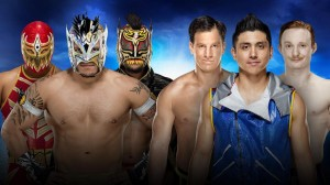 Metalik, Kalisto & Dorado vs Gulak, TJP, Gallagher