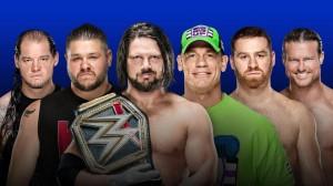 Corbin vs Owens vs Styles vs Cena vs Zayn vs Ziggler