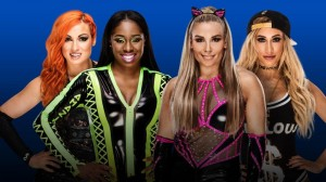 Lynch & Naomi vs Natalya & Carmella
