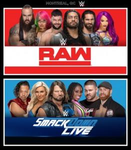 La WWE de retour à Montréal avec Raw et SmackDown Live