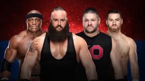 Lashley & Strowman vs Owens & Zayn