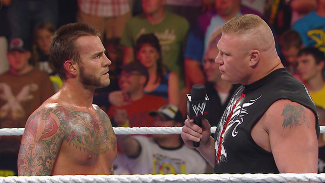 Punk & Lesnar