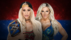 Carmella vs Flair