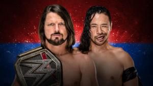 Styles vs Nakamura