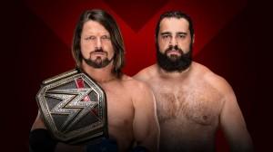 Styles vs Rusev