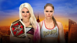 Bliss vs Rousey