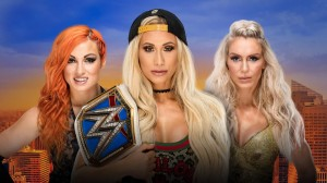 Lynch vs Carmella vs Flair