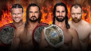 Ziggler & McIntyre vs Rollins & Ambrose