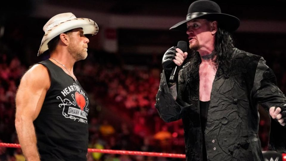 Shawn Michaels et Undertaker