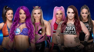 Bayley, Banks & Natalya vs Riott Squad