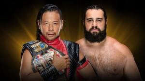 Nakamura vs Rusev