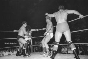 La rivalité entre les Rougeau et les Garvin a permis à Jimmy de faire son entrée au panthéon photo: Linda Boucher