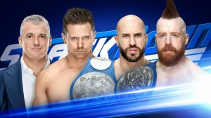 The Miz Vs. Cesaro