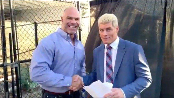 billy gunn cody rhodes all elite wrestling