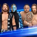 AJ Styles, Jeff Hardy et Kofi Kingston Vs. The New Daniel Bryan, Randy Orton et Samoa Joe