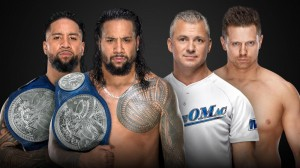 The Miz et Shane McMahon c. The Usos