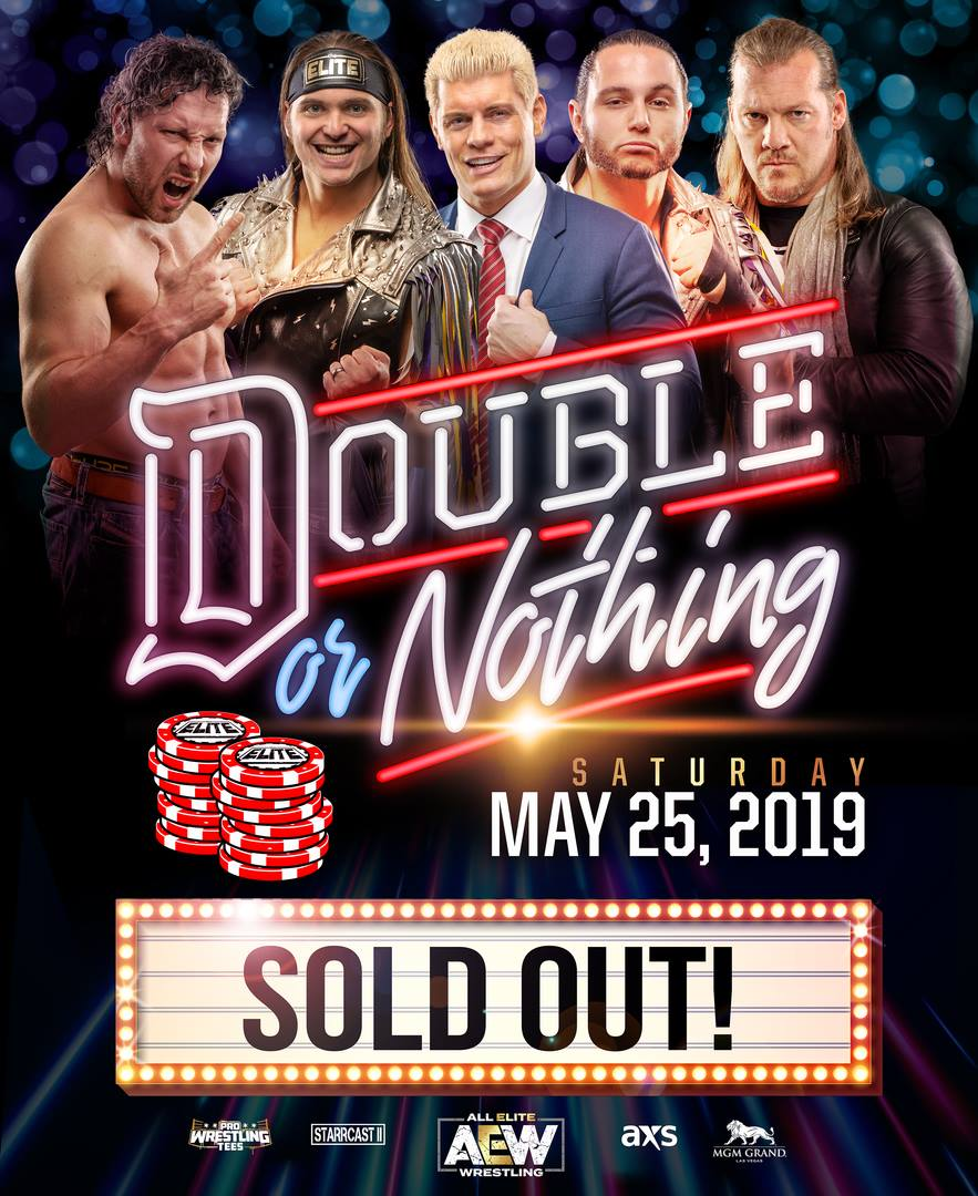 double or nothing sold out