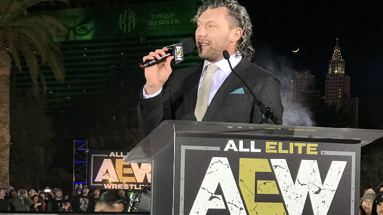 kenny omega all elite wrestling AEW