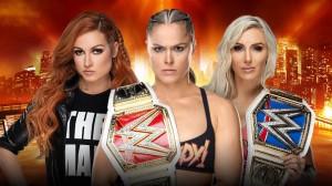 Ronda Rousey c. Becky Lynch c. Charlotte Flair