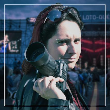"""Josianne Tétreault, organisatrice de l'événement """"En action pour la cause""""."""