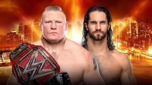 Lesnar vs Rollins