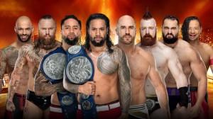 Ricochet & Black vs Usos vs Bar vs Rusev & Nakamura