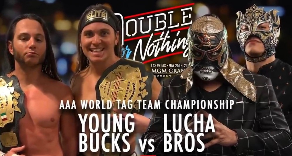 The Young Bucks c. The Lucha Brothers