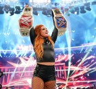 becky lynch deux ceintures belts