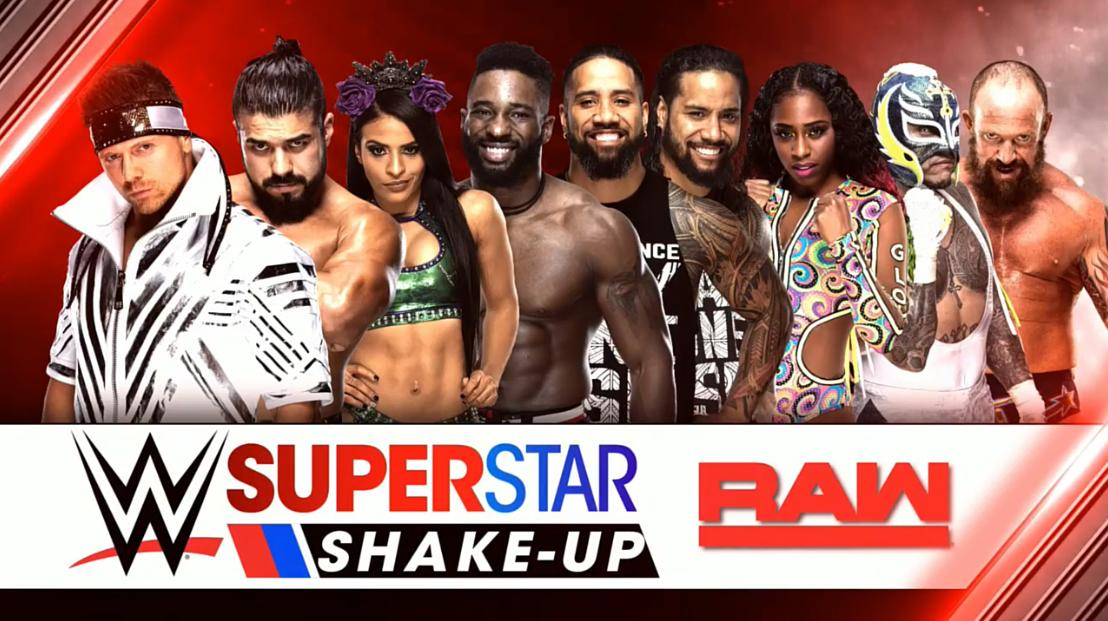superstar shake-up raw