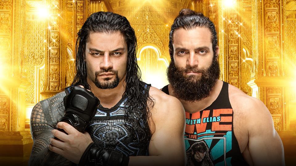 Reigns vs Elias