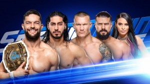 Finn Bálor c. Ali c. Andrade c. Randy Orton quadruple menace