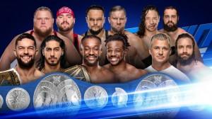division par équipes SmackDown LIVE