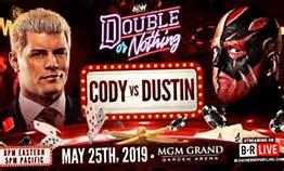 Cody vs Dustin