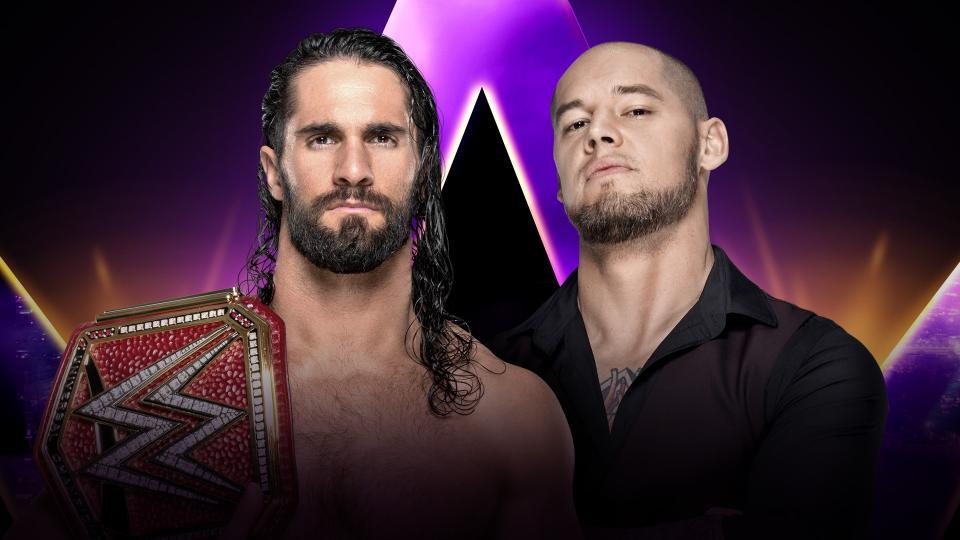 Rollins vs Corbin