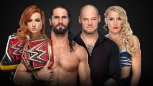 Seth Rollins et Becky c. Baron Corbin et Lacey Evans